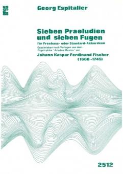 Seven preludes and seven fugues (accordion)