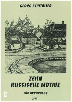 Zehn russische Motive (Akkordeon)