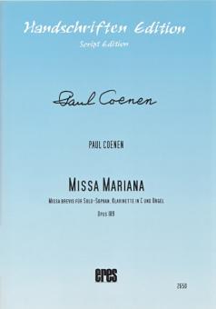 Missa Mariana (Sopran, Klarinette C, Orgel)