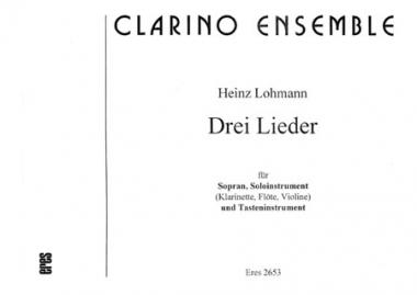 Drei Lieder (voice, clarinet, organ)
