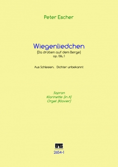 Wiegenliedchen (vocal, clarinet, organ)