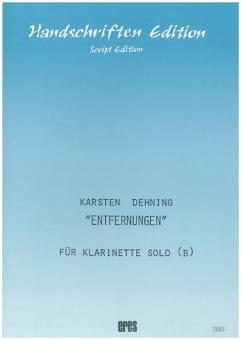 Entfernungen (Klarinette Bb)