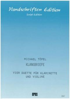 Klangbriefe (Klarinette, Violine)