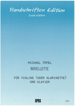 Novellette (violin or clarinet, piano)