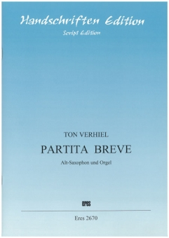 Partita breve (Alt-Saxophon, Orgel)