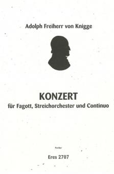 Konzert  F-Dur (Fagott, Orchester)