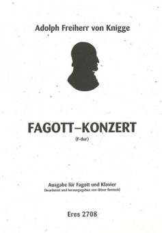 Fagott-Konzert F-Dur (Fagott & Klavier)