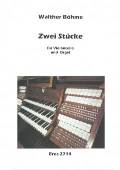 Two pieces (violoncello and organ)