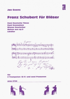 Franz Schubert for brass (trumpet,trombone)