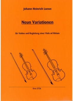 Nine Variations  (violin, viola)