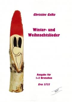 Winter- und Weihnachtslieder (1-3 Bratschen, mit CD)