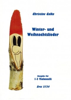 Winter- and Christmas-Songs (1-3 Violoncello, plus CD)