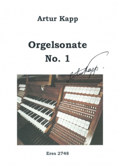 Sonata for organ No. 1