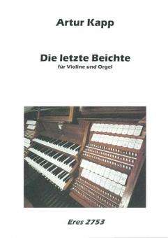 Die letzte Beichte (Violine mit Orgel)