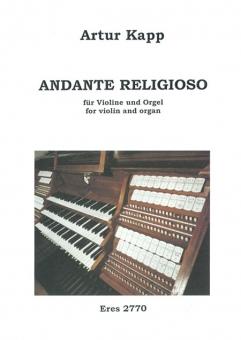 Andante religioso (violin and organ)
