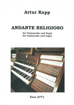 Andante religioso (violoncello, organ)