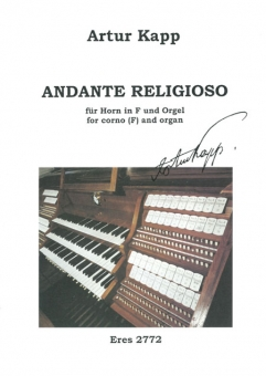 Andante religioso (corno F and organ)