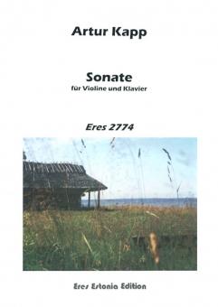 Sonate allegro (Violine und Klavier)