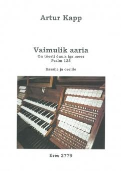 Vaimulik aaria (voice, organ)