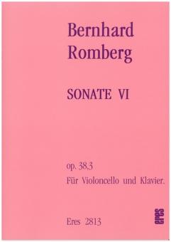 Sonate VI  (op.38.3)