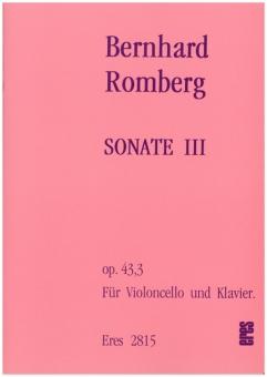 Sonate III  (op.43.3)
