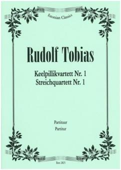 Streichquartett  Nr. 1 d-moll (Partitur)