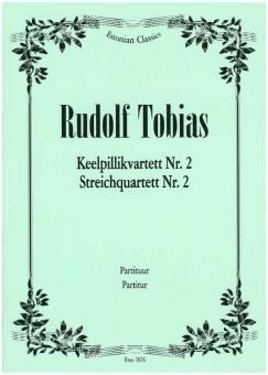 Streichquartett  Nr. 2 c-moll (Stimmen)