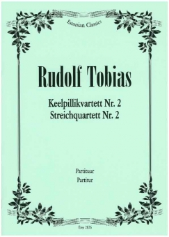 Streichquartett  Nr. 2 c-moll (Partitur)