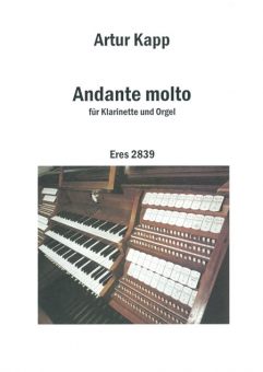 Andante molto (clarinet and organ)