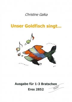 Unser Goldfisch singt... (1-3 Bratschen)