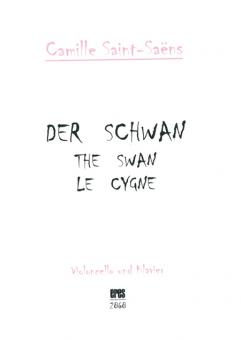 Der Schwan (Violoncello und Klavier) DOWNLOAD