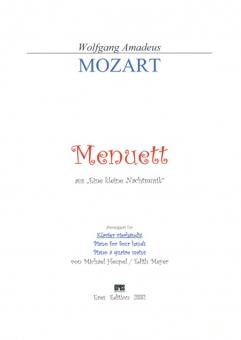 Menuett (4 hands-DOWNLOAD)