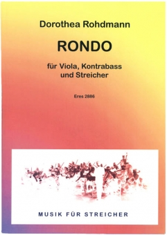 Rondo for viola, doublebass and strings