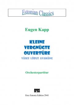 Kleine vergnügliche Ouvertüre (Orchesterstimmen)