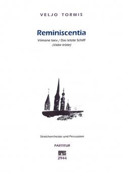 Reminiscentia (Streichorchester und Percussion)
