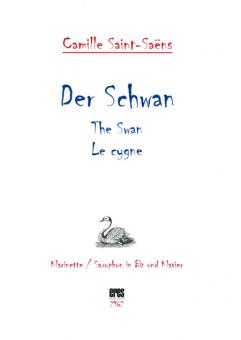 Der Schwan (Klarinette / Saxofon Bb und Klavier) DOWNLOAD
