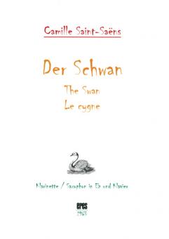 Der Schwan (Klarinette / Saxofon Eb und Klavier) DOWNLOAD