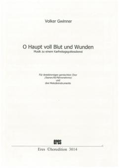 O Haupt voll Blut und Wunden (gemischter Chor 3st)