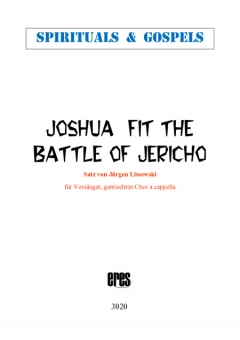 Joshua Fit The Battle Of Jericho (gemischter Chor)
