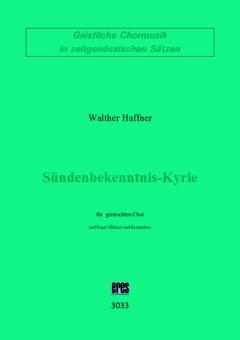 Sündenbekenntnis-Kyrie (gemischter Chor)