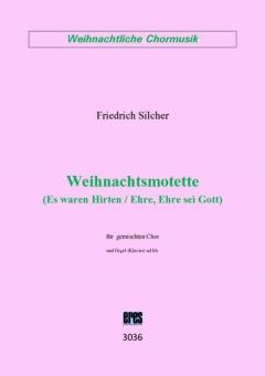 """Weihnachtsmotette """"Ehre sei Gott"""" (gemischter Chor)"""