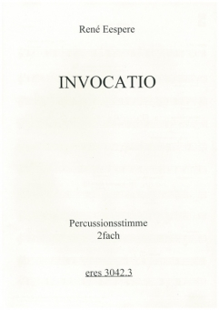 Invocatio (mixed-choir-Percussion)