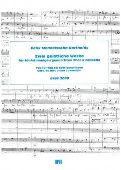 Zwei geistliche Werke (5st gemischter Chor)