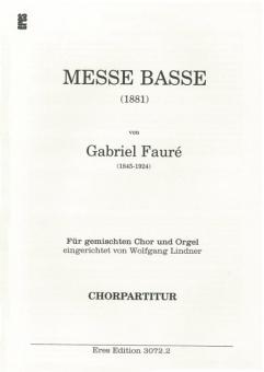 Messe basse (gemischter Chorpartitur)