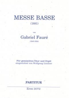 Messe basse (gemischter Chor) Klavierauszug