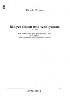 Singet frisch und wohlgemut (gem. Chor)