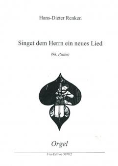 Singet dem Herrn ein neues Lied (Orgelstimme)