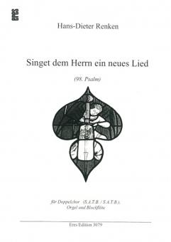Singet dem Herrn ein neues Lied (Partitur)