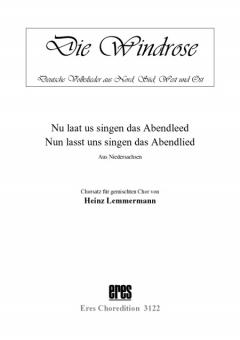 Nun lasst uns singen das Abendlied (gemischter Chor)