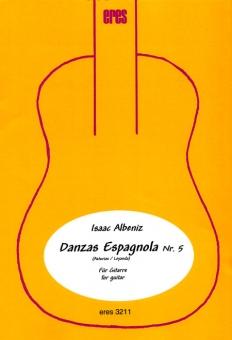 Danzas Espagnola Nr. 5 (zwei Gitarren)